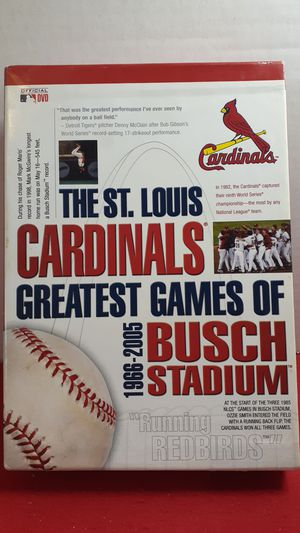 The St Louis Cardinals greatest games DVD set for Sale in Leavenworth, KS
