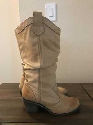 ALDO Cowgirl Boots - Size 39 (8.5) for Sale in Santee, CA