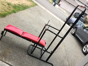 Workout bench for Sale in Federal Way, WA