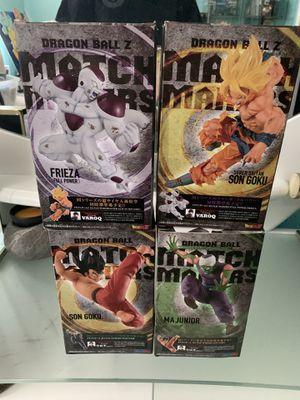 Match Makers Dragonball Z Goku Piccolo Frieza SSJ Figure Banpresto for Sale in Miami, FL