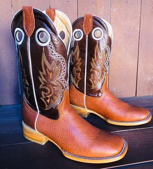 Men's Bull Leather Boots 👢 for Sale in San Antonio, TX