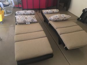 Sunbrella chase lounge chairs for Sale in Scottsdale, AZ