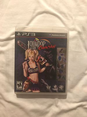 Lollipop Chainsaw for PS3 for Sale in Duarte, CA