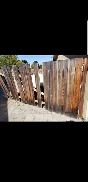 Used 6 feet fence boards 20 pieces for Sale in San Francisco, CA