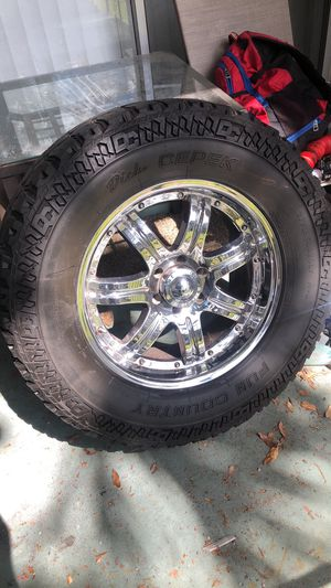 Rims and tires for Sale in Tampa, FL