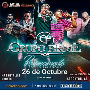 2 tickets to Grupo Firme in Stockton for Sale in San Francisco, CA