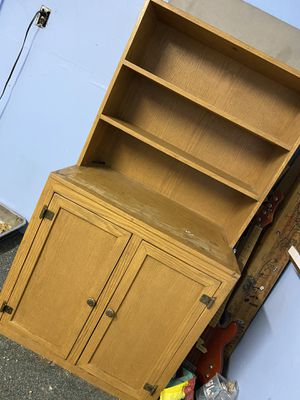 Shelf with cabinet for Sale in Clovis, CA