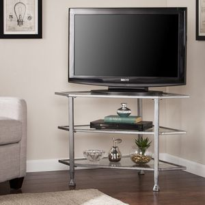 Silver Corner TV Stand for Sale in San Francisco, CA