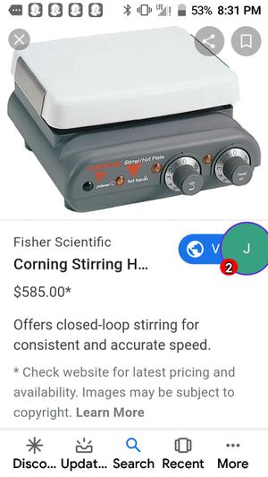 Corning. Stiring hot plate for Sale in Portland, OR