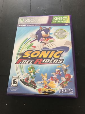 Sonic Free Riders Kinect for Xbox 360 for Sale in Leavenworth, WA