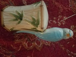 Vintage Parakeet Toothbrush holder (Shawnee KS) for Sale in Shawnee, KS