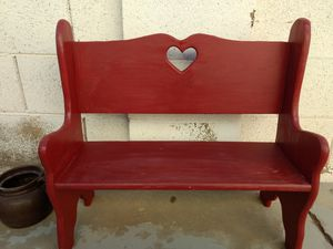 Bench 25.5w 24tall for Sale in Glendale, AZ
