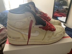 Nigel Sylvester Air Jordan 1 (Red Lace Only) for Sale in Brooklyn, NY