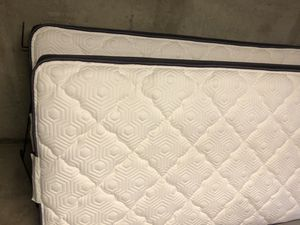 2 twin mattresses + box springs for Sale in Longmont, CO