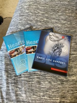 Heartsave first aid and cpr are & basic life support book for Sale in Vista, CA