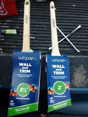 2 Brand New Valspar Brushes for Sale in Murfreesboro, TN