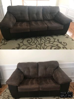 Ashley sofa & love seat for Sale in Elmwood Park, NJ