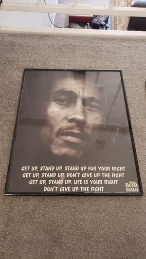 Bob marley poster for Sale in Los Angeles, CA