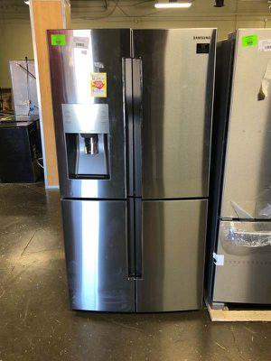 Brand New Samsung 22.5 cu. ft. 4-DoorFlex French Door Refrigerator in Stainless Steel, Counter Depth (Model:RF23J9011SR) FAGU for Sale in Fort Worth, TX