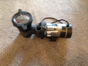 Swimming pool filter. Pentair 1 hp rebuilt excellent condition. Will work for spa or pool. $200.00 for Sale in Portland, OR