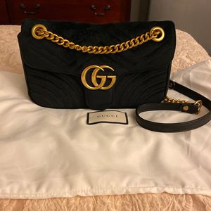 Gucci GG Marmont Velvet Shoulder Bag Mini for Sale in Costa Mesa, CA