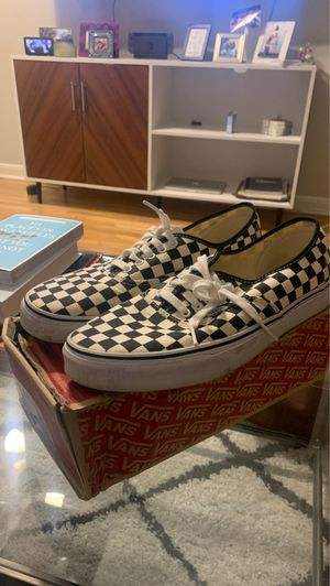 Checkered Vans Size 12 for Sale in South Pasadena, CA