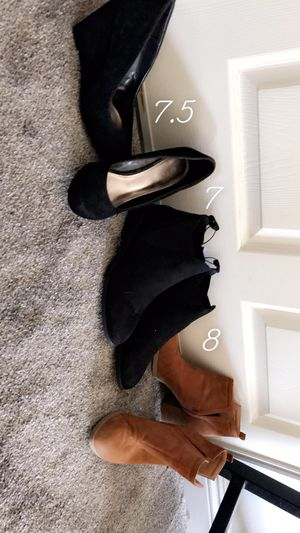 Bakers wedges // booties for Sale in Apple Valley, CA