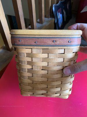 Longaberger Tall Tissue Box Basket for Sale in Gresham, OR