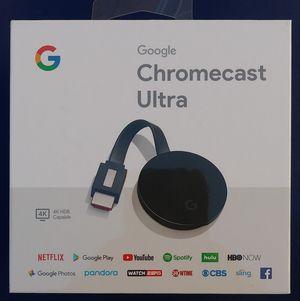 Google Chromecast Ultra 4K Brand New for Sale in Los Angeles, CA