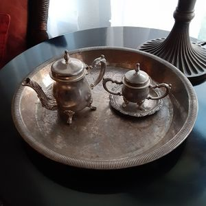 Silver Plated Tea Set for Sale in Seattle, WA