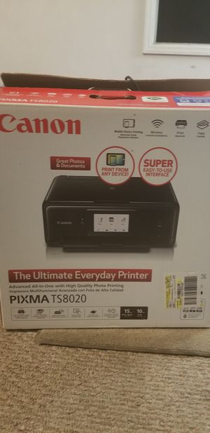 Canon printer for Sale in Indiana, PA