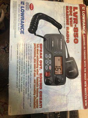 Lowrance per 850 vhf radio for Sale in Millbury, MA