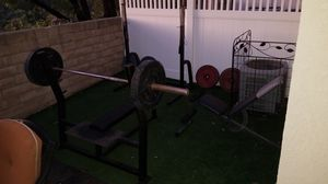 Weight Lifting Setup for Sale in Laguna Beach, CA