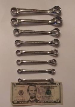 Snap-On METRIC Short Combo Box Wrench Set 0° Off Set for Sale in Las Vegas,  NV