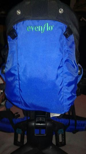 Baby carrier back pack evenflo Excellent for Sale in West Palm Beach, FL
