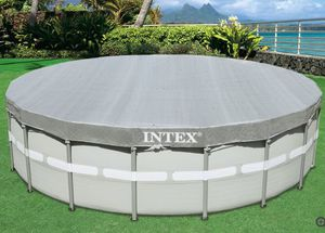 Intex 18ft Round Above Ground Pool Cover. Brand New In The Box. for Sale in New Port Richey, FL
