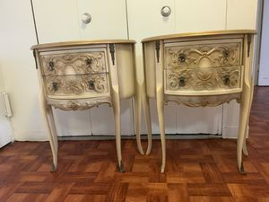 Antique end tables-set of matching 2 for Sale in The Bronx, NY