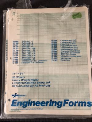 Engineering Forms for Sale in Dallas, TX