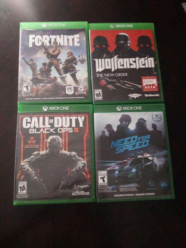 games 20$ each one looking to trade for a dragon ball z,MK11 or ultimate marvel alliance 3