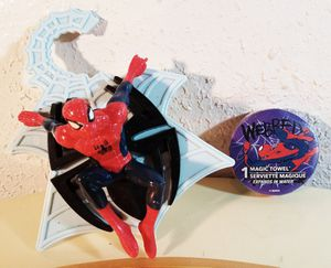 Spiderman Magic Towel & Door hanger for Sale in Oklahoma City, OK