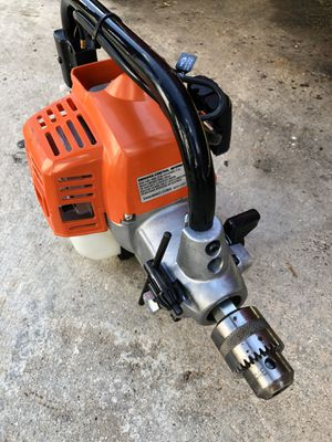 ECHO EDR-210 Gas Engine Drill w/ Reverse 21.2cc Engine for Sale in Miami, FL