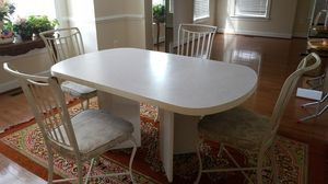 Dining table with 4 chairs for $100 for Sale in Ashburn, VA