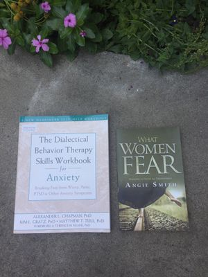 Books on Anxiety and Fear for women for Sale in Sunnyvale, CA