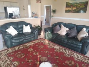 Leather sofa set for Sale in Boynton Beach, FL