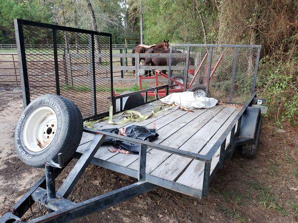 6.4x12 atv trailer
