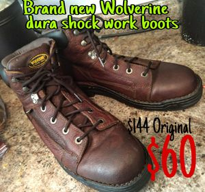 Brand new wolverine work boots for Sale in Spanaway, WA