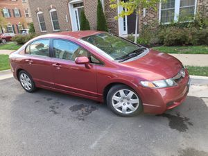 2009 Honda Civic LX in excellent condition low miles 61k for Sale in Herndon, VA