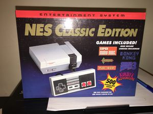 NES mini version 500 games not the 30 please read this is coming whit the best retro games for Sale in Cumberland, RI