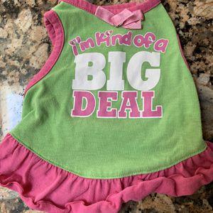 Green Dog Dress for Sale in Bakersfield, CA