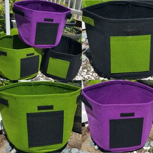 5 Pack Lot of 10 Gallon Potato Grow Bag Garden Vegetable Planting Container Fabric Pot Outdoor shipped for Sale in Whittier, CA